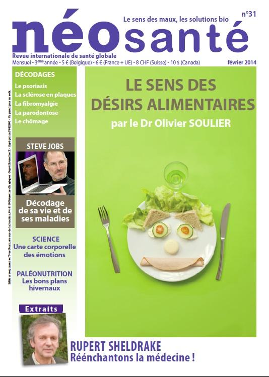 Dossier exceptionnel sur le sens des désirs alimentaires par Olivier Soulier