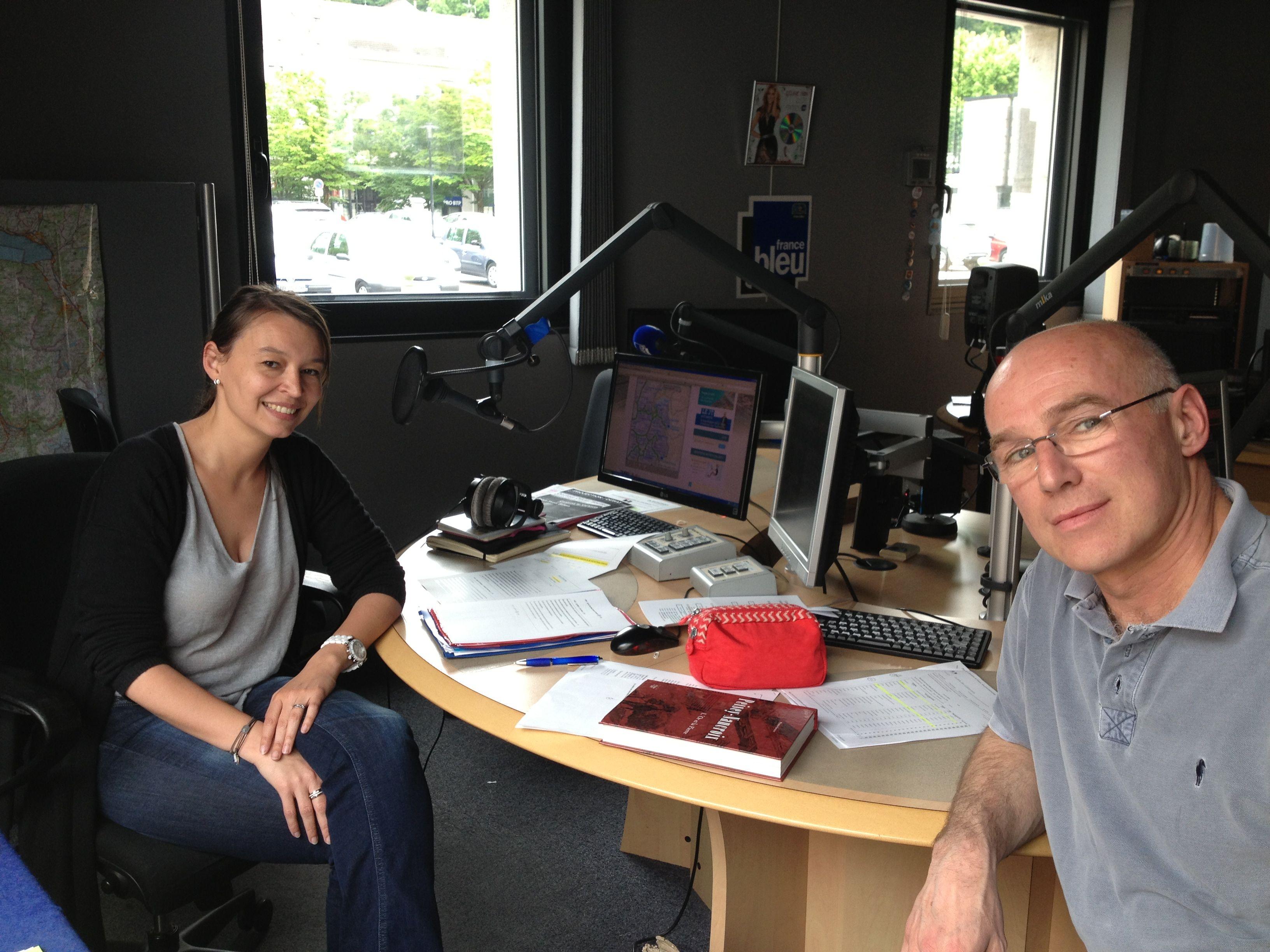 """Olivier Soulier sur France bleu, une émission """"portrait"""" à écouter !"""