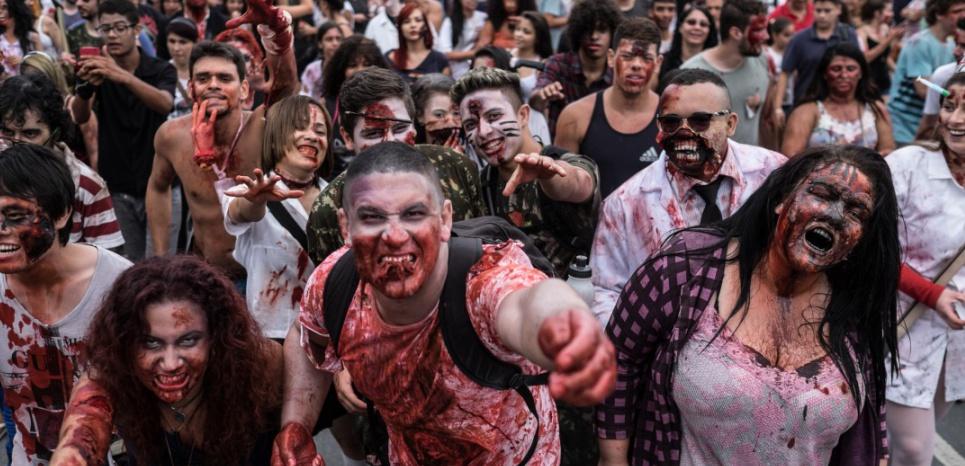« Epidémiologie des infections zombies: une étude (presque) très sérieuse »
