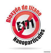 L'oxyde de titane E171, nano particule, qui sert à blanchir aliments et dentifrices apparait comme cancérigène.