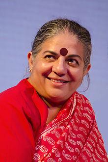 Vandana Shiva, aime et sème