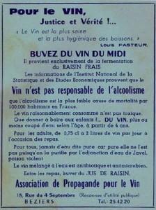 Pasteur et le vin