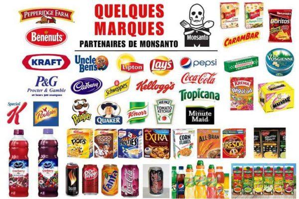 Liste des produits Monsanto à éviter