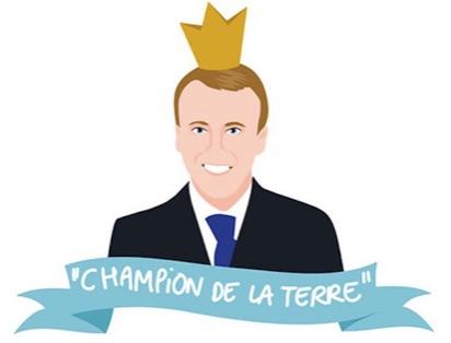 Macron, champion de la Terre