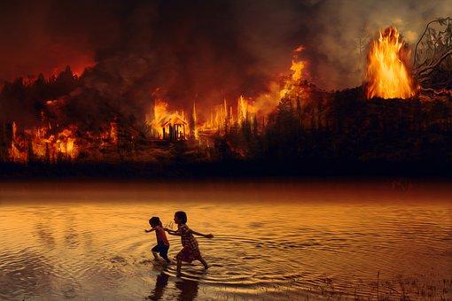 L'Indonésie brûle également