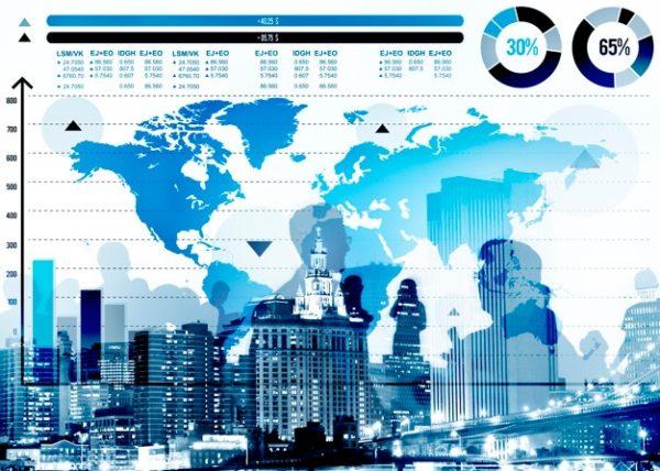 La croissance mondiale en baisse