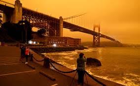 Les incendies en Californie, une image d'apocalypse.