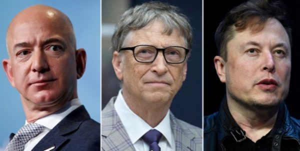 US billionaires' wealth grew by $845 billion during the first six months of the pandemic