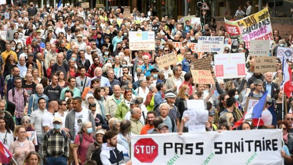 Liste des manifestations du 21 août